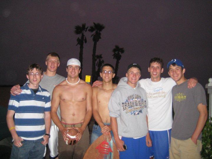 Pictured left to right: Ben Blanchard, Sean Reese, Sky Smith, Tony Maddalena, Shawn Elliott, the author, and Jon Howard.